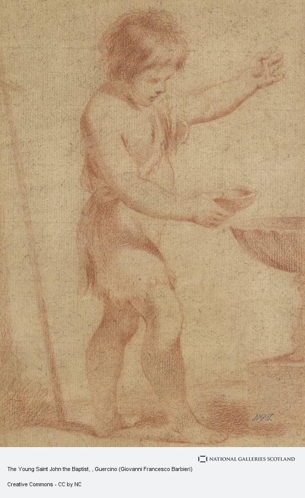Guercino (Giovanni Francesco Barbieri), The Young Saint John the Baptist