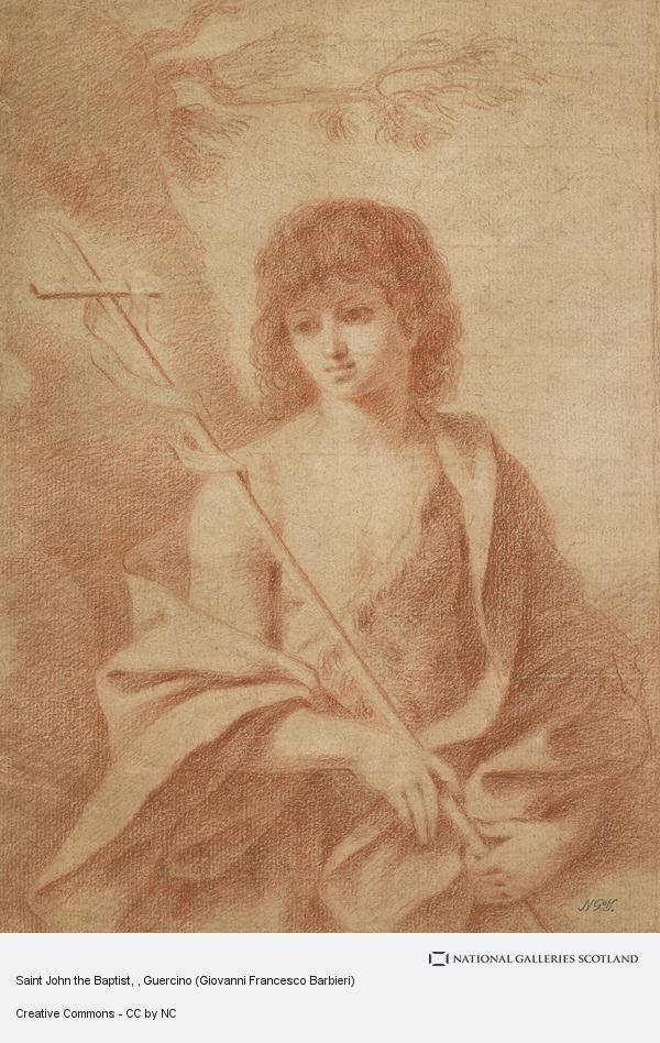 Guercino (Giovanni Francesco Barbieri), Saint John the Baptist