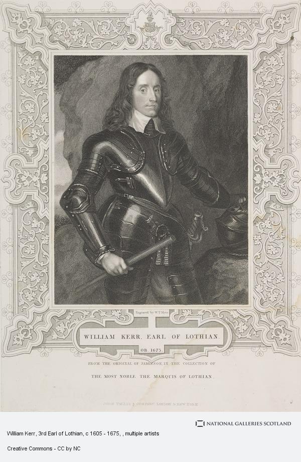 W.T. Mote, William Kerr, 3rd Earl of Lothian, c 1605 - 1675