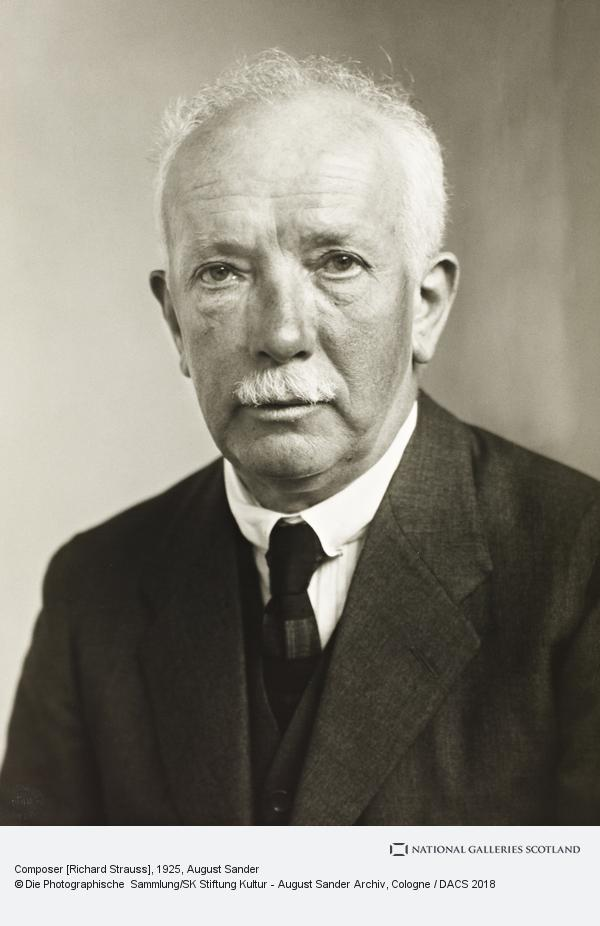August Sander, Composer [Richard Strauss], 1925 (1925)
