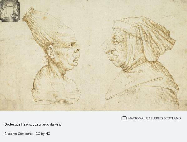 Leonardo da Vinci, Grotesque Heads