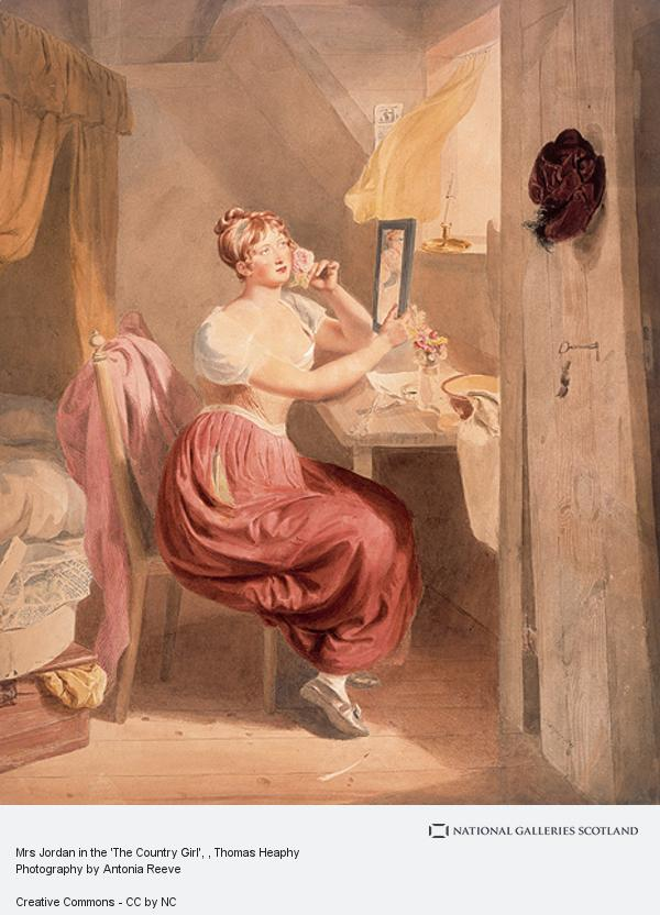 Thomas Heaphy, Mrs Jordan in the 'The Country Girl'