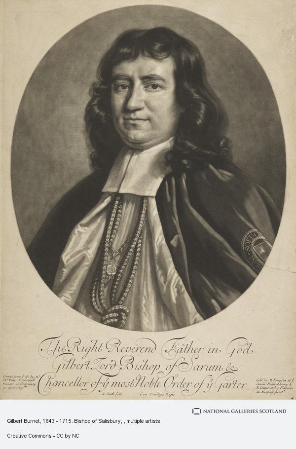 John Smith, Gilbert Burnet, 1643 - 1715. Bishop of Salisbury