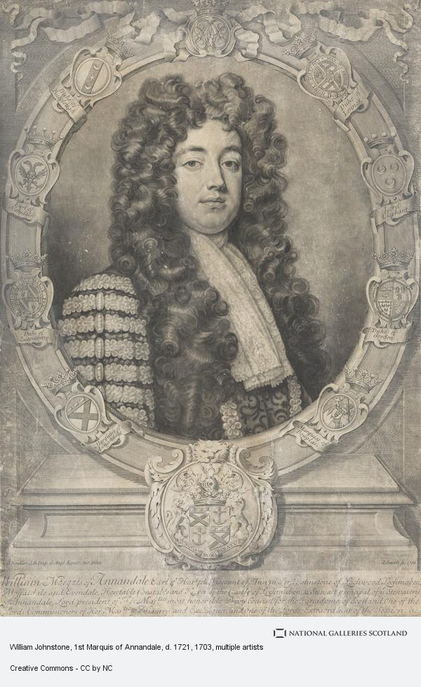 William Johnstone, 1st Marquess of Annandale