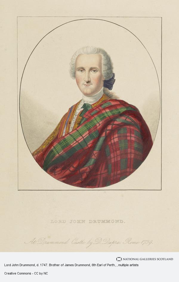 Unknown, Lord John Drummond, d. 1747. Brother of James Drummond, 6th Earl of Perth