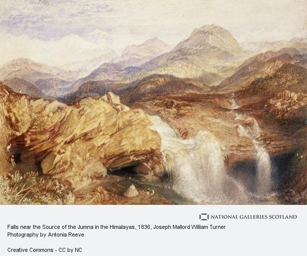 Joseph Mallord William Turner, Falls near the Source of the Jumna in the Himalayas