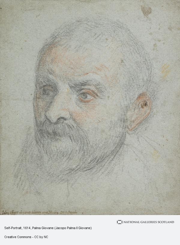 Palma Giovane (Jacopo Palma Il Giovane), Self-Portrait
