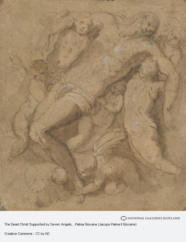 Palma Giovane (Jacopo Palma Il Giovane), The Dead Christ Supported by Seven Angels