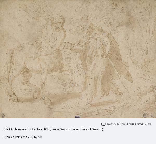 Palma Giovane (Jacopo Palma Il Giovane), Saint Anthony and the Centaur