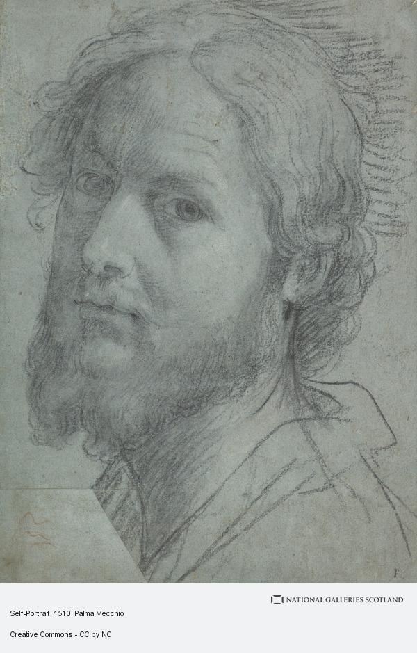 Palma Vecchio, Self-Portrait