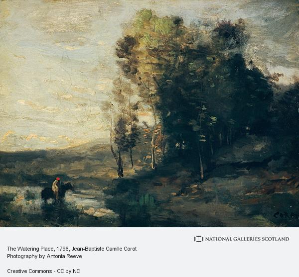 Jean-Baptiste Camille Corot, The Watering Place