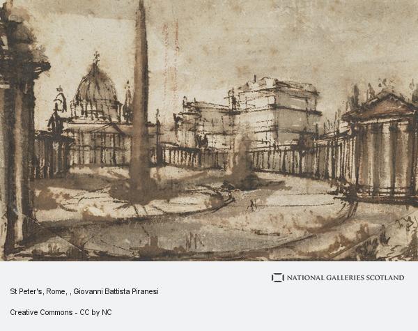 Giovanni Battista Piranesi, St Peter's, Rome
