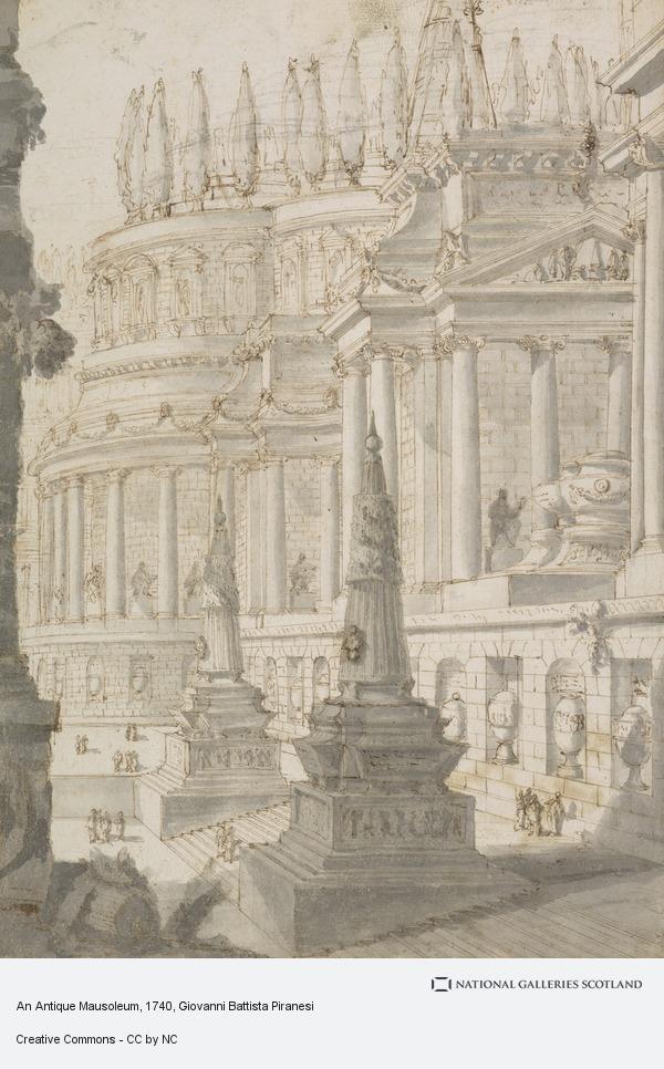 Giovanni Battista Piranesi, An Antique Mausoleum