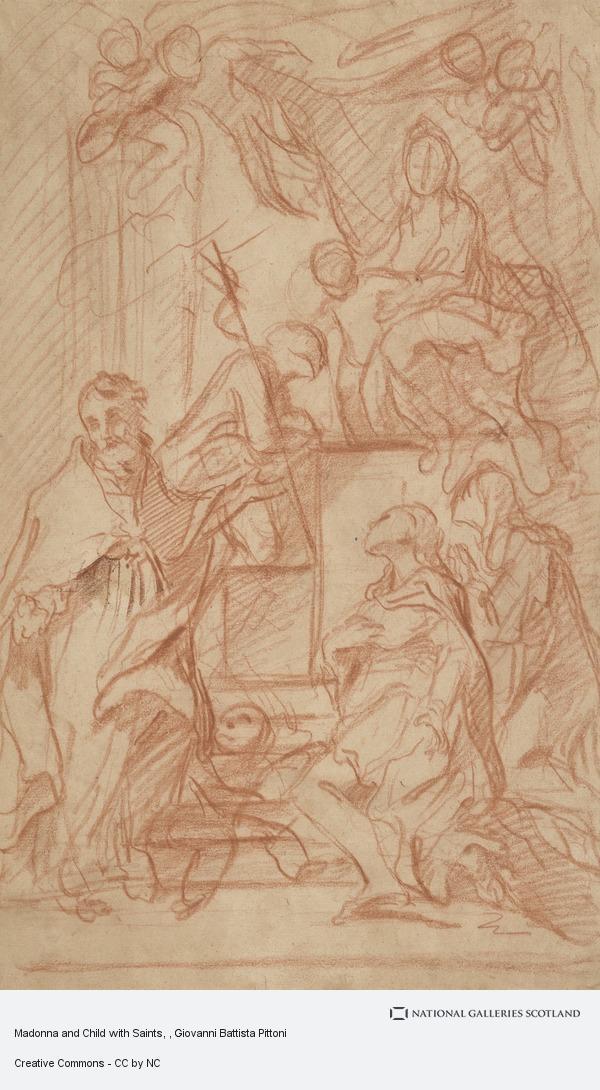 Giovanni Battista Pittoni, Madonna and Child with Saints