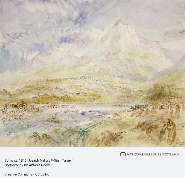Joseph Mallord William Turner, Schwyz