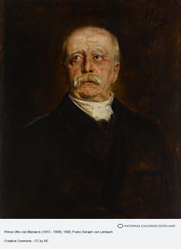 Franz-Seraph von Lenbach, Prince Otto von Bismarck (1815 - 1898)