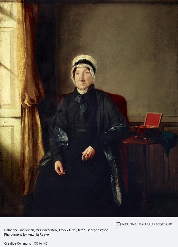 George Simson, Catherine Sandeman, Mrs Waterston, 1755 - 1831