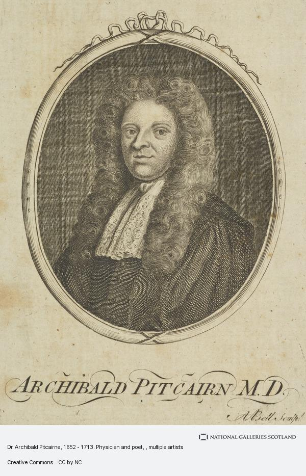 Alexander Bell, Dr Archibald Pitcairne, 1652 - 1713. Physician and poet