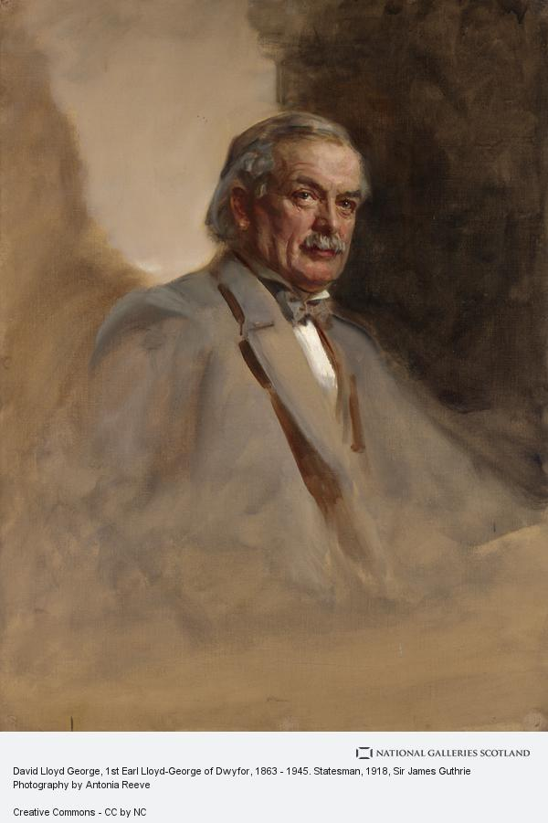 Sir James Guthrie, David Lloyd George, 1st Earl Lloyd-George of Dwyfor, 1863 - 1945. Statesman