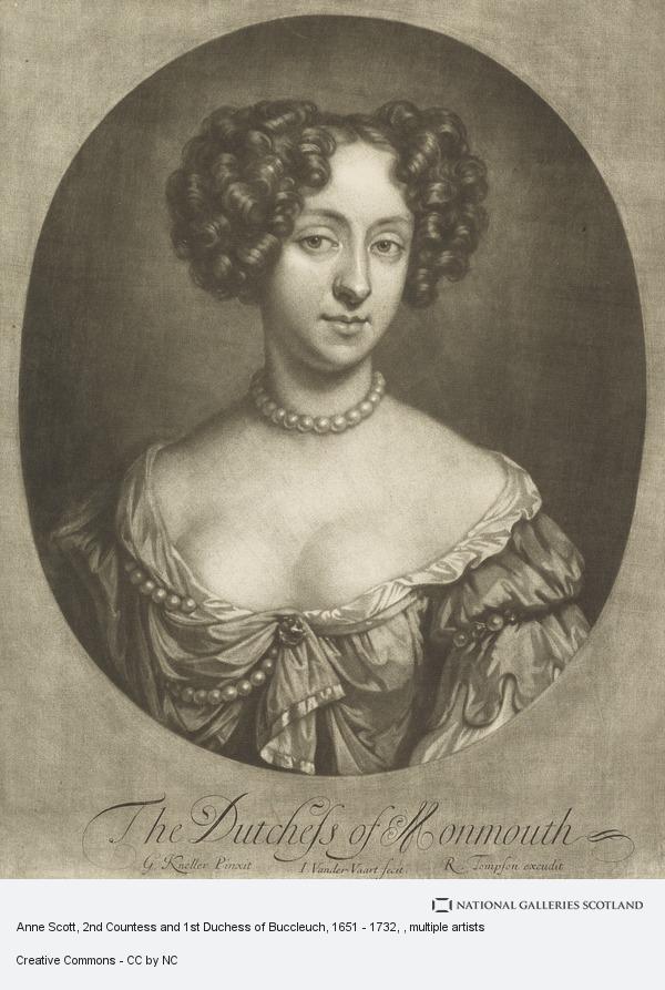 Sir Godfrey Kneller, Anne Scott, 2nd Countess and 1st Duchess of Buccleuch, 1651 - 1732