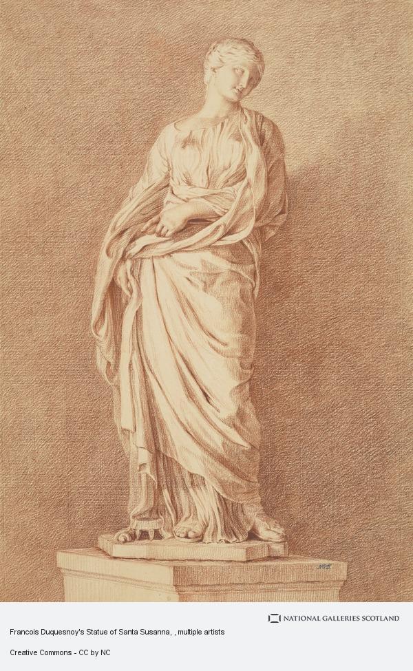 Giovanni Domenico Campiglia, Francois Duquesnoy's Statue of Santa Susanna