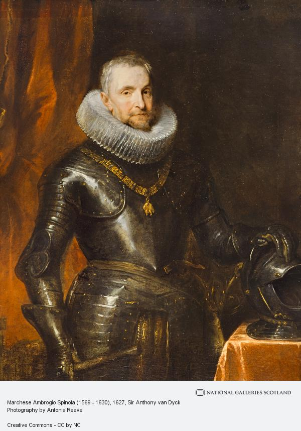 Sir Anthony van Dyck, Marchese Ambrogio Spinola (1569 - 1630)