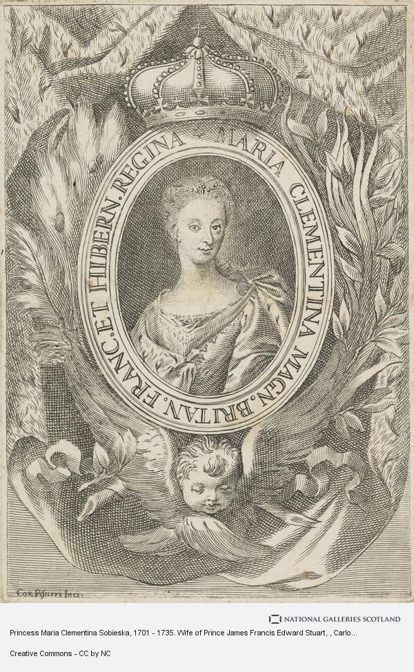 Unknown, Princess Maria Clementina Sobieska, 1702 - 1735. Wife of Prince James Francis Edward Stuart