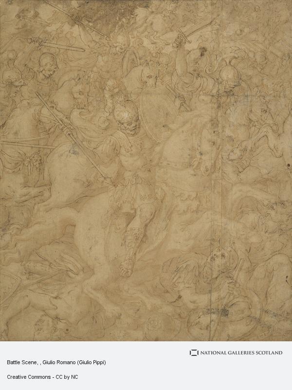 Giulio Romano (Giulio Pippi), Battle Scene