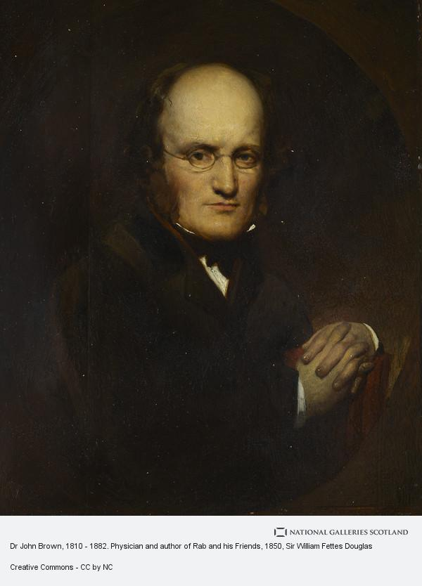 Sir William Fettes Douglas, Dr John Brown, 1810 - 1882. Physician and author of Rab and his Friends