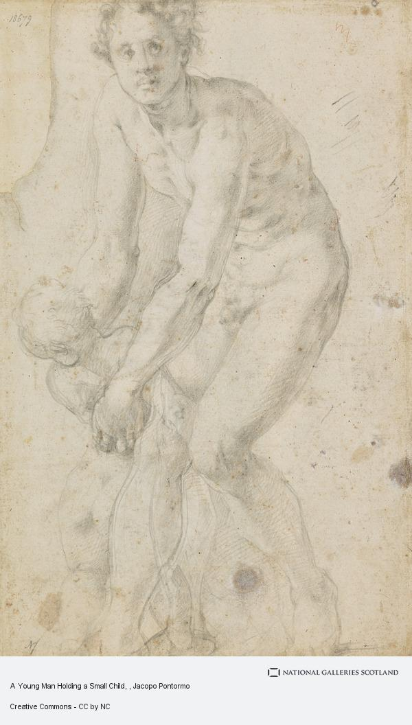 Jacopo Pontormo, A Young Man Holding a Small Child