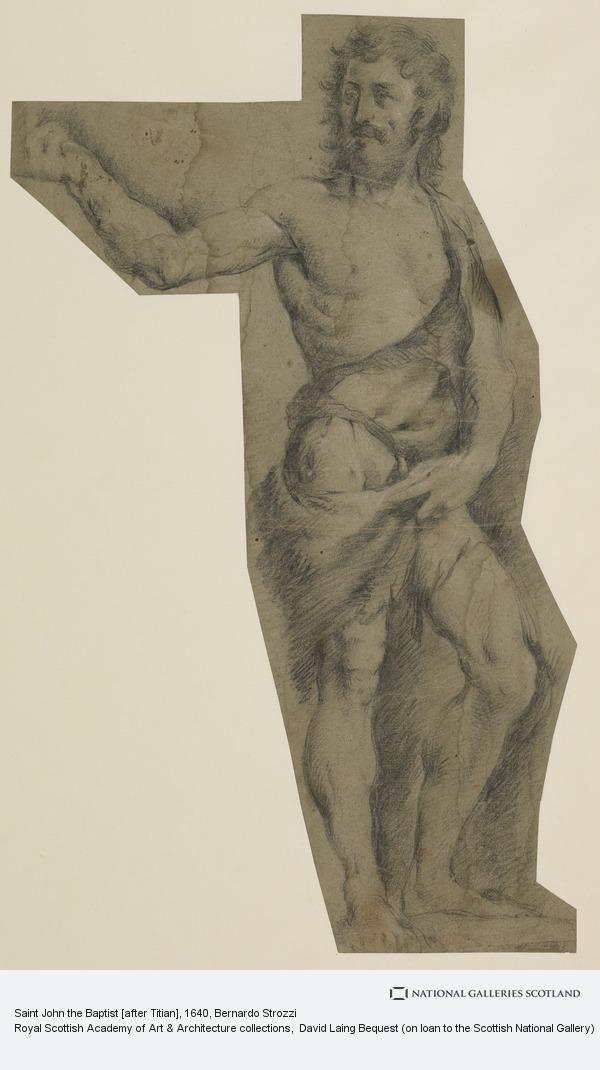 Bernardo Strozzi, Saint John the Baptist [after Titian]