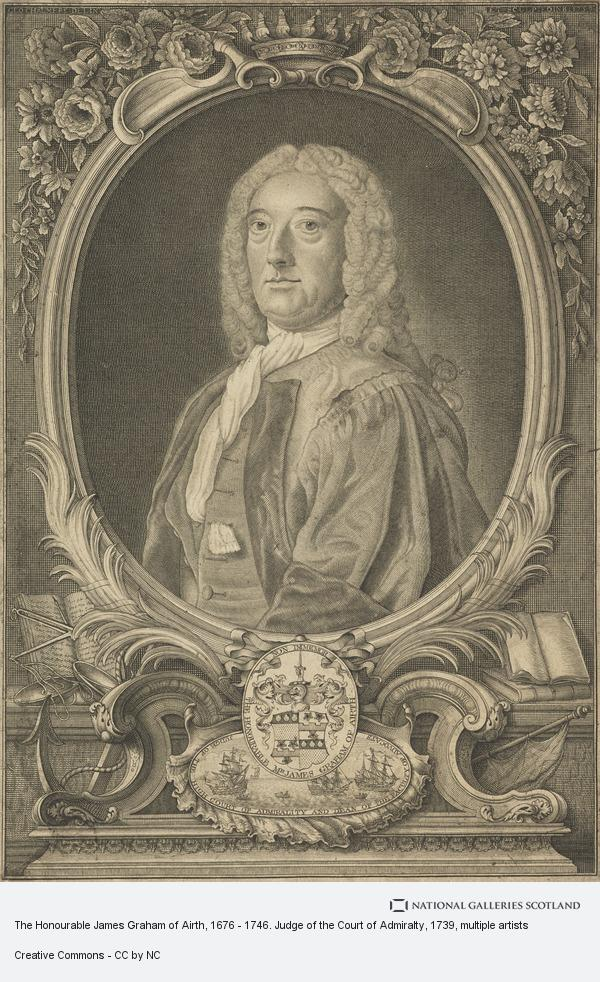 Sir George Chalmers, The Honourable James Graham of Airth, 1676 - 1746. Judge of the Court of Admiralty
