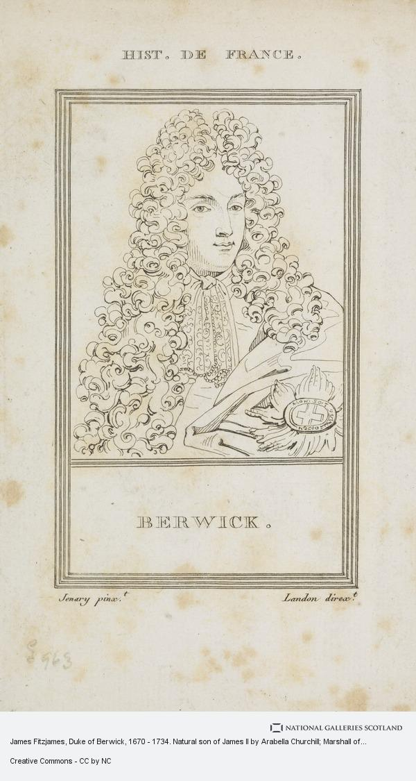 Landon, James Fitzjames, Duke of Berwick, 1670 - 1734. Natural son of James II by Arabella Churchill; Marshall of France