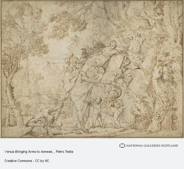 Pietro Testa, Venus Bringing Arms to Aeneas