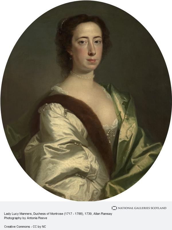 Allan Ramsay, Lady Lucy Manners, Duchess of Montrose (1717 - 1788)