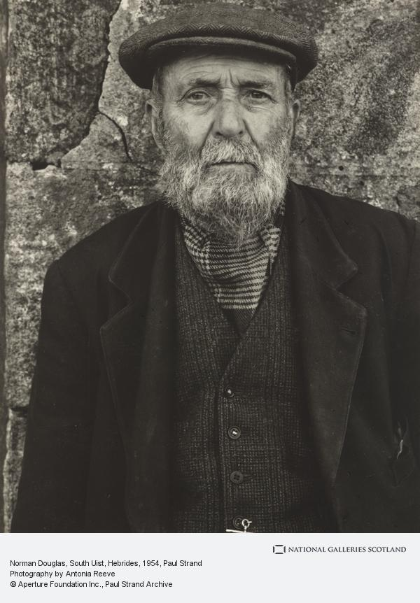 Paul Strand, Norman Douglas, South Uist, Hebrides