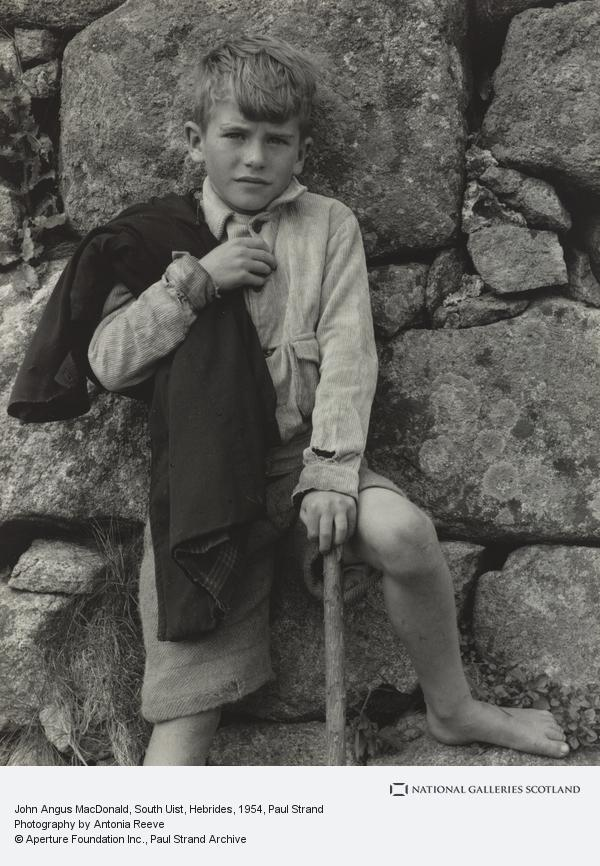 Paul Strand, John Angus MacDonald, South Uist, Hebrides