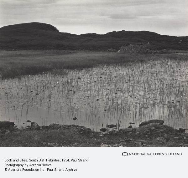 Paul Strand, Loch and Lilies, South Uist, Hebrides (1954)
