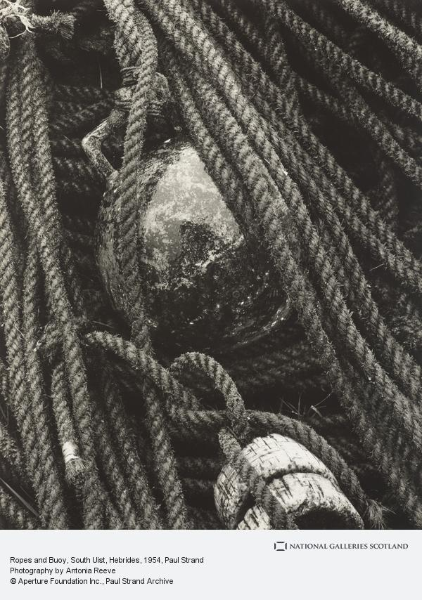 Paul Strand, Ropes and Buoy, South Uist, Hebrides