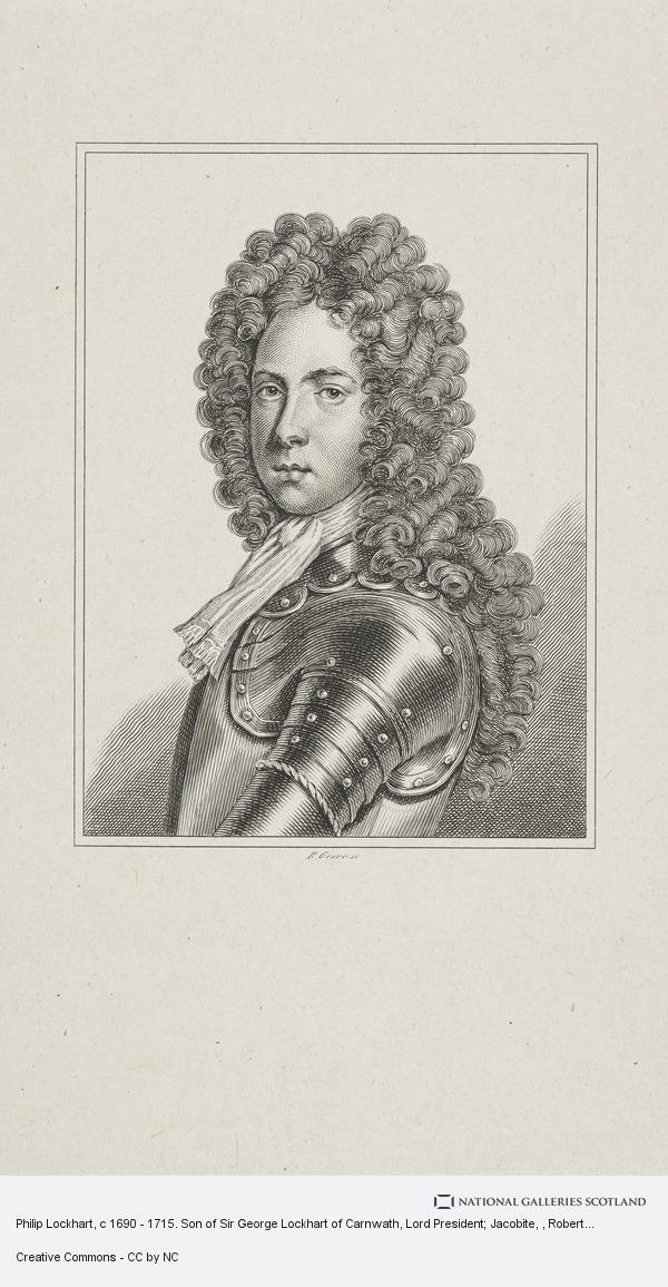 Robert Graves, Philip Lockhart, c 1690 - 1715. Son of Sir George Lockhart of Carnwath, Lord President; Jacobite