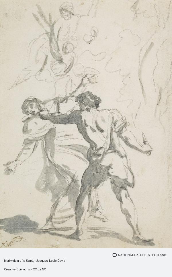 Jacques-Louis David, Martyrdom of a Saint