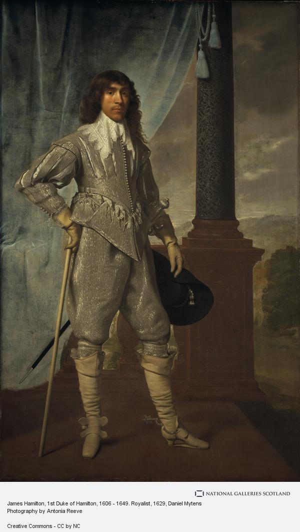 Daniel Mytens, James Hamilton, 1st Duke of Hamilton, 1606 - 1649. Royalist
