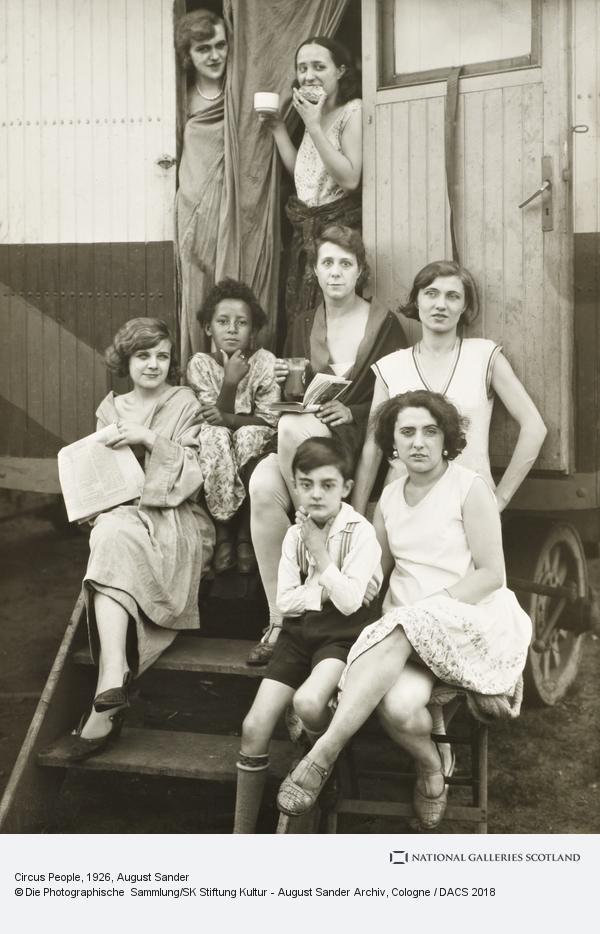 August Sander, Circus People, 1926-32 (1926 - 1932)
