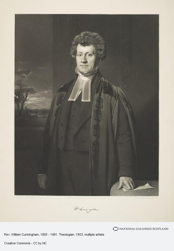 Edward Burton, Rev. William Cunningham, 1805 - 1861. Theologian