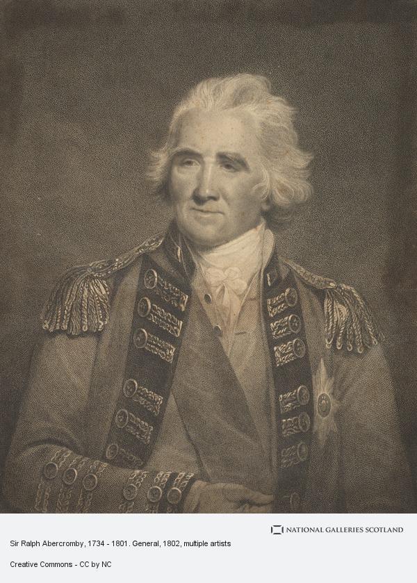 Francesco Bartolozzi, Sir Ralph Abercromby, 1734 - 1801. General