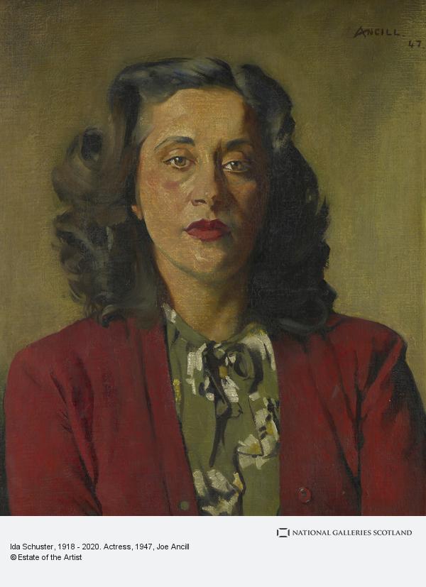 Joe Ancill, Ida Schuster, 1918 - 2020. Actress