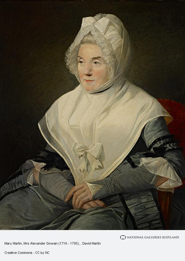 David Martin, Mary Martin, Mrs Alexander Gowan (1716 - 1795)