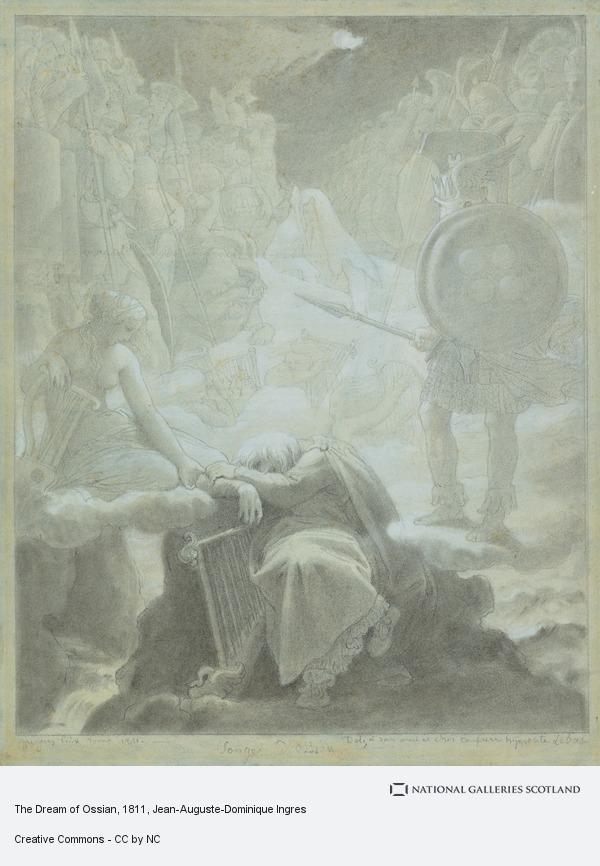 Jean-Auguste-Dominique Ingres, The Dream of Ossian