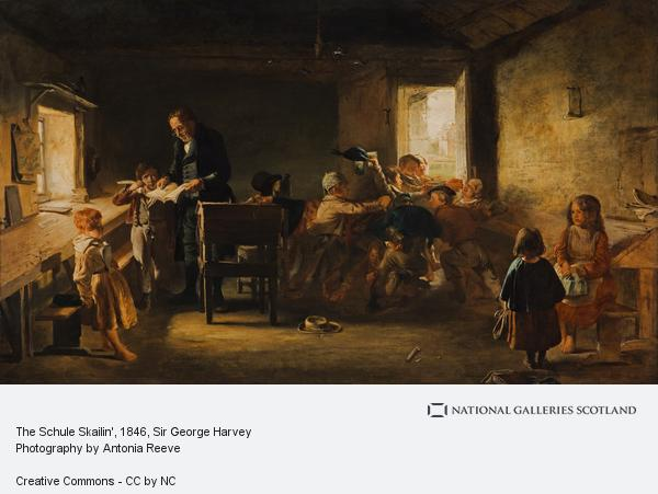 Sir George Harvey, The Schule Skailin'