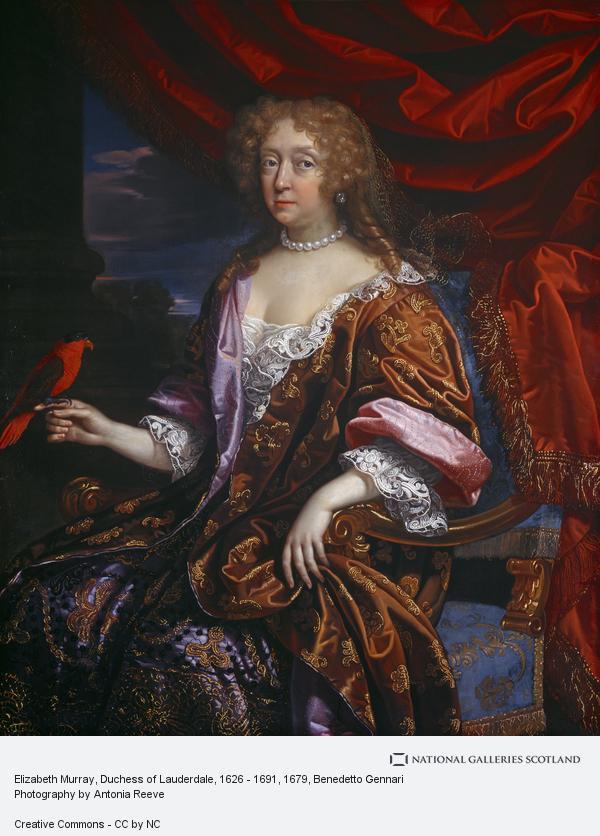 Benedetto Gennari, Elizabeth Murray, Duchess of Lauderdale, 1626 - 1691 (About 1679)